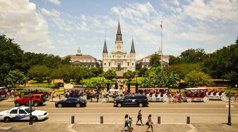 USA_Jackson Square Nouvelle Orleans