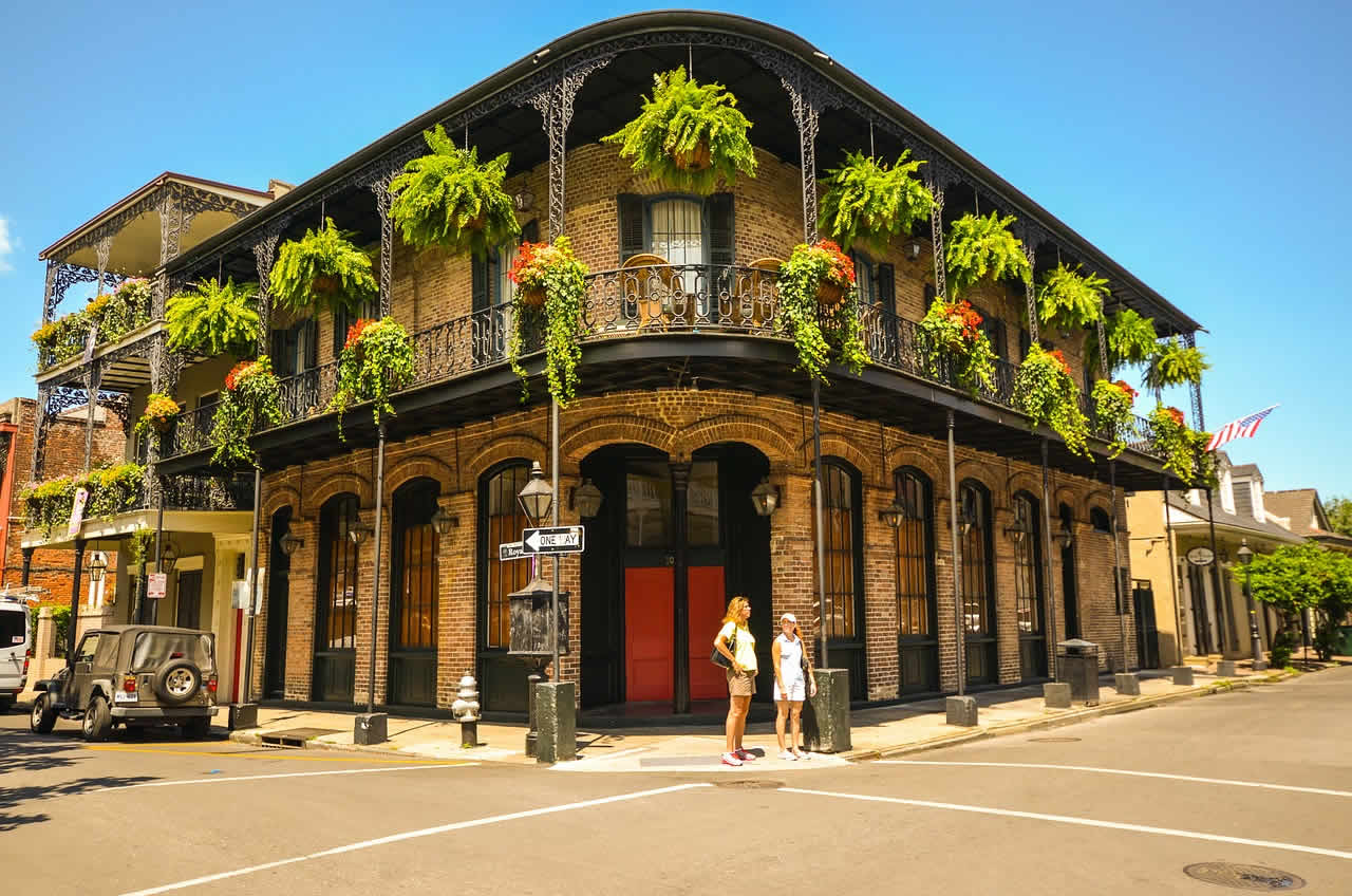 USA_The French Quarter Nouvelle Orleans